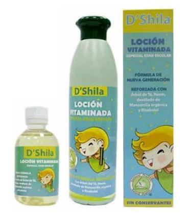 D'Shila loción escolar anti piojos vitaminada nueva fórmula