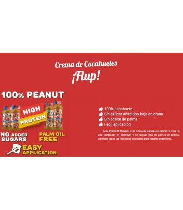 ingredientes naturales crema de cacahuete Max Protein
