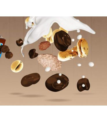 cereales proteicos con chocolate negro