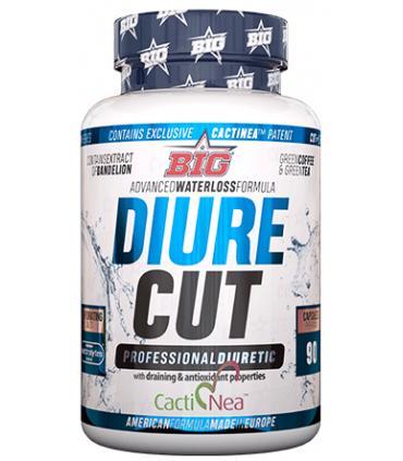 Big Diure Cut potente diurético y termogénico en 90 cápsulas
