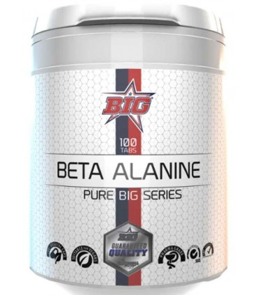Big Beta Alanine pure series en 100 tabletas