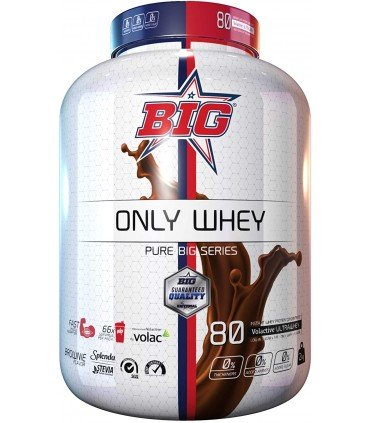 Only Whey Big bote de proteína pura sabor belgian chocolate