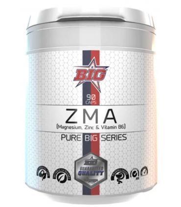 Big ZMA con magnesio zinc y vitamina B6 en 90 cápsulas