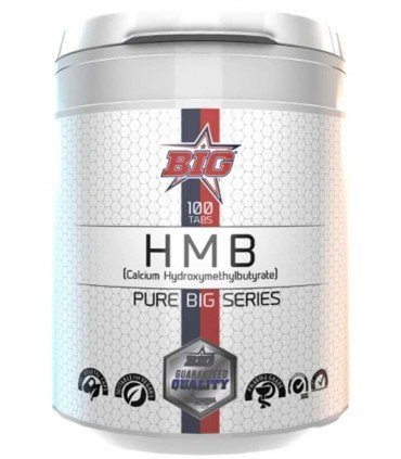 Big supplements HMB en 100 tabletas