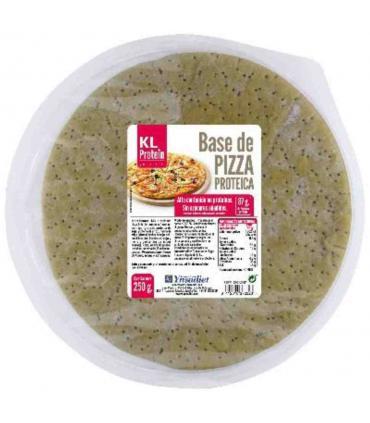 KL Protein Base de Pizza Proteica redonda 250 gramos
