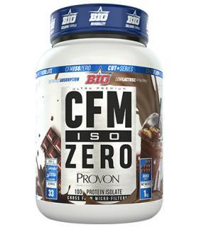 Bote de proteína Big Supplements Iso CFM Zero sabor chocolate 1KG