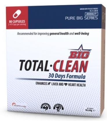 Big Total Clean optimiza la función hepática y cardiovascular