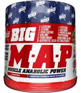 Big MAP Anabolico natural para aumentar masa muscular en comprimidos
