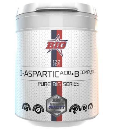 Big D-Aspartic Acid con BComplex en 120 cápsulas