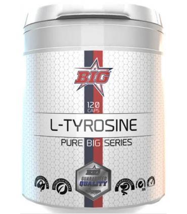 Big L-Tyrosine aminoácido en 120 cápsulas Pharma Grade
