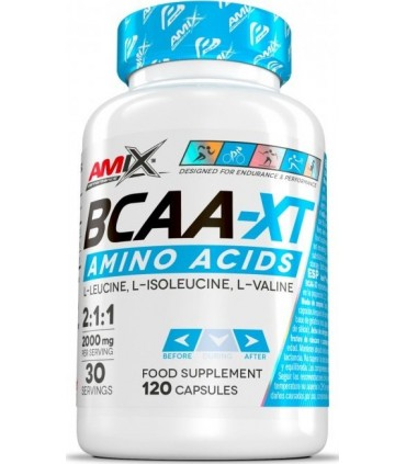 Amix Performance BCAA-XT Aminoácidos en 120 cápsulas