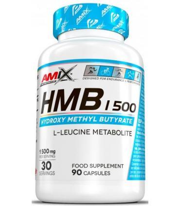 Amix Performance HMB 1500 metabolito de la L-Leucina en 90 cápsulas
