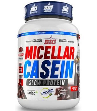 Bote 1Kg proteína lenta absorción Big Micellar Casein chocolate