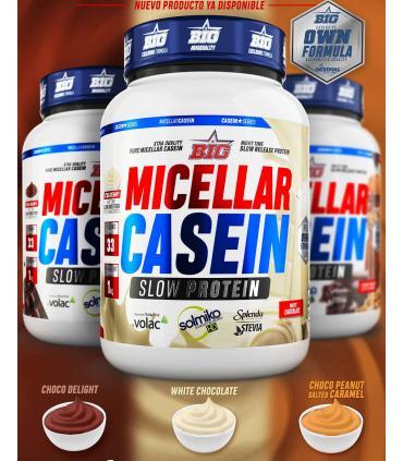 Big Supplements Micellar Casein sabores