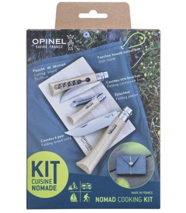 Parte trasera caja kit de cocina nomada Opinel
