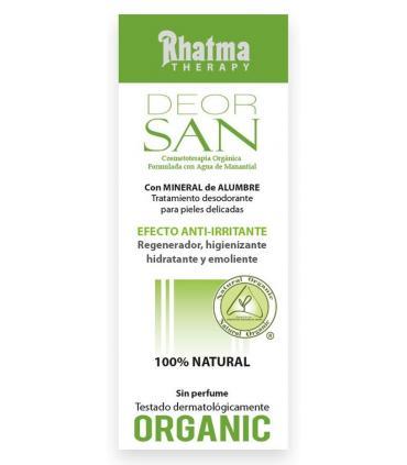 Rhatma Desodorante para pieles sensibles Deorsan 75ml