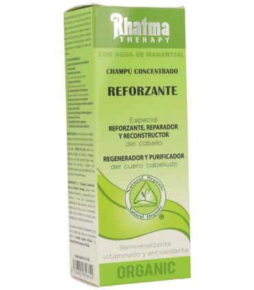 caja del champú reforzante Rhatma