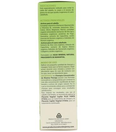 Como usar champú concentrado anticaída y anticaspa de Rhatma