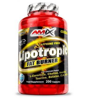 Amix Lipotropic Fat Burner sin cafeína 200 cápsulas