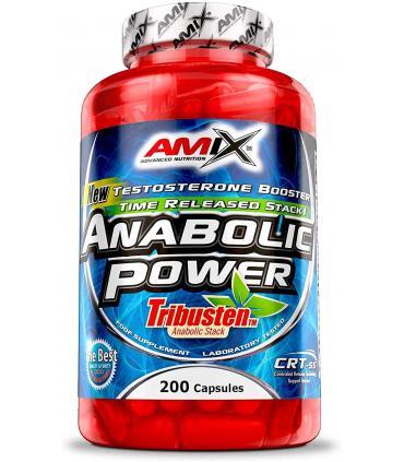 Amix Anabolic Power con Tribulus terrestris 200 cápsulas