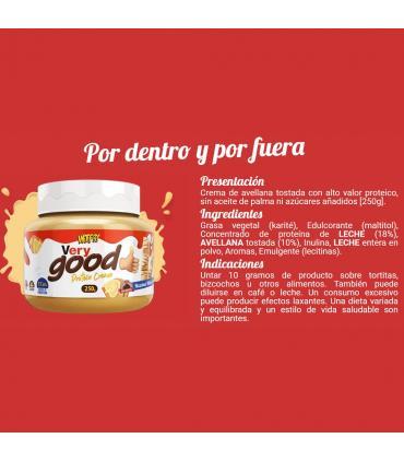 ingredientes WTF Very Good Max Protein crema de avellanas