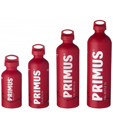 tamaños Primus Fuel Bottle Red