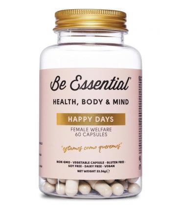 Be Essential Happy Days Antiinflamatorio Menstrual Natural 60 cápsulas