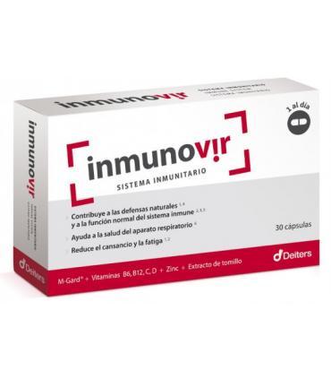 Caja de inmunovir Deiters en cápsulas