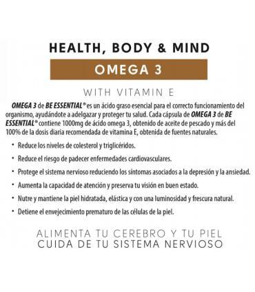 Be Essential Omega 3 tu organismo en buen funcionamiento 90 caps