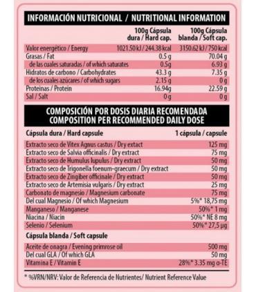 Información Nutricional Ideal Period