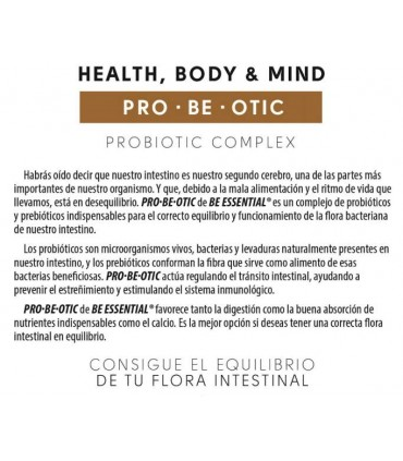 Para que sirve PRO.BE.OTIC Be Essential