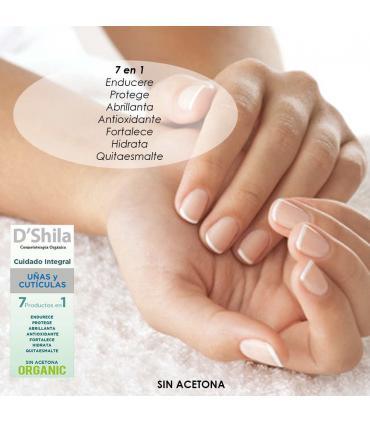 D'Shila cuidado integral uñas y cutículas 60ml