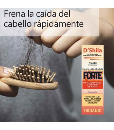 D'Shila Champú para la caída del cabello forte 125 ml