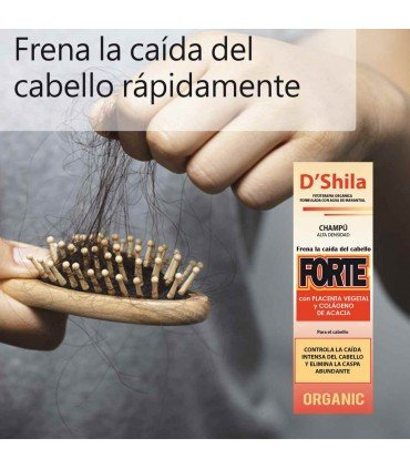 D'Shila Champú para la caída del cabello 125 ml