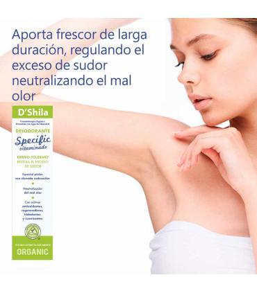 D'Shila desodorante Specific vitaminado Alta sudoración 50 ml