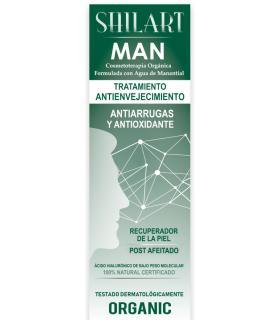 Shilart crema facial para hombre 120ml uso diario ralentiza la oxidación de la piel