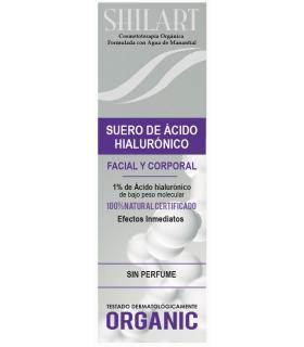 Shilart suero de ácido hialurónico facial y corporal 120 ml