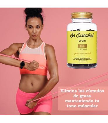 Be Essential CLA elimina la grasa manteniendo tu tono muscular 90 cápsulas