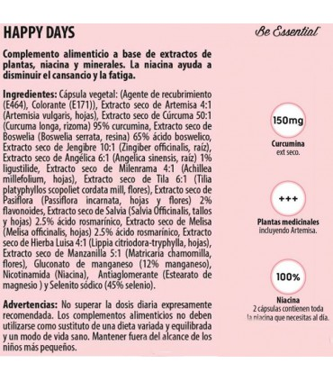 Ingredientes de Be Essential Happy Days