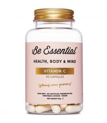 Envase Vitamina C Be Essential 90 cápsulas