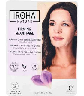 Mascarilla Iroha Nature Reafirmante y Anti-Age biodegradable y vegana