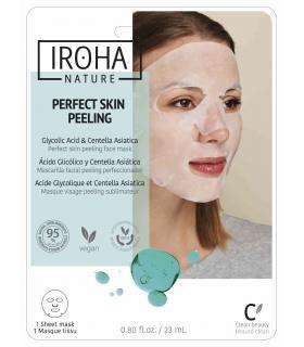 Mascarilla Iroha Nature Perfect Skin Peeling mejora la textura y renovación de la piel
