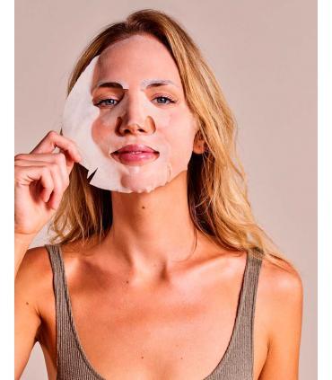 Mascarilla Iroha Nature Antioxidante y antiedad de Tisú con Q10 Biodegradable