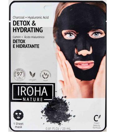 Mascarilla Facial Iroha Nature Detox e Hidratante Biodegradable