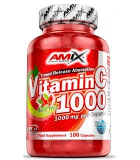 Amix Vitamina C 1000mg bote 100 cápsulas