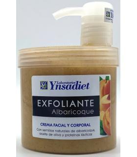 Ynsadiet Exfoliante Albaricoque crema facial y corporal 500ml