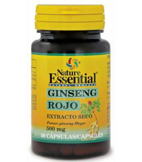 Nature Essential Ginseng Rojo Extracto Seco 500mg 50 cápsulas