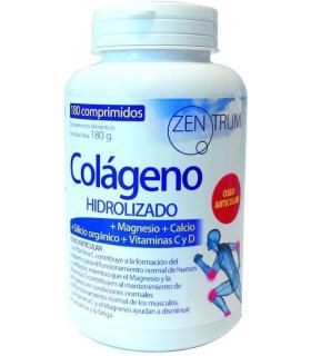 Zentrum Colágeno Hidrolizado con magnesio y calcio 180 comprimidos