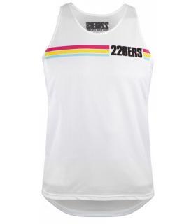 226ERS Camiseta de tirantes running transpirable Coolmax