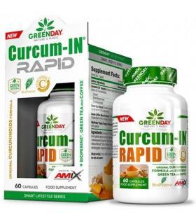 Amix Curcum-in Rapid GreenDay 60 cápsulas